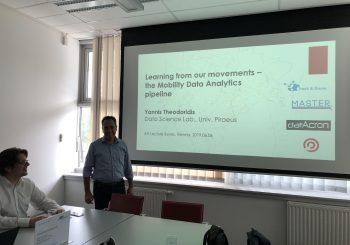 Prof. Yannis Theodoridis (UPRC) delivered a lecture at the Austrian Institute of Technology