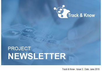 3rd Issue Track & Know newsletter online