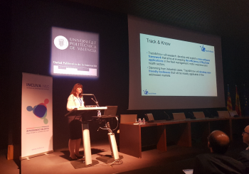 Track & Know results presented at BigMedilytics event in Valencia